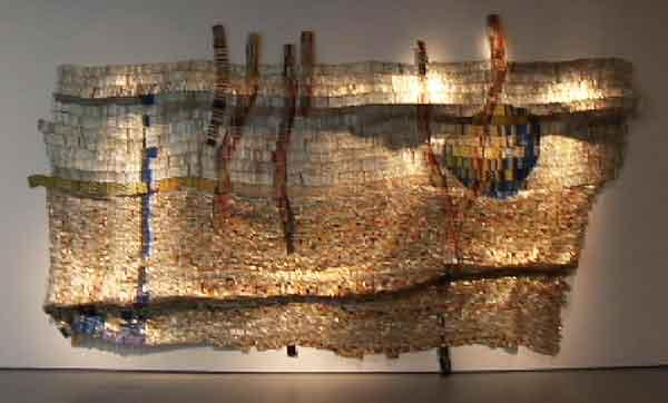 El Anatsui Gawu Artworks