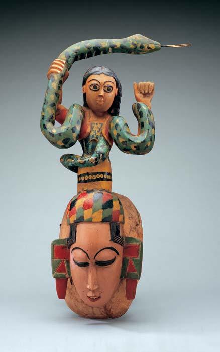 Erik Johnson's Medi(a)tations — Mami Wata, often portrayed