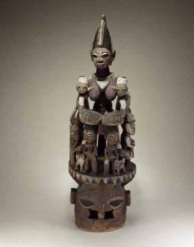 The Akaga of Odo-Owa, Bamgboye (Yoruba artist)