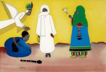 Untitled (Sheikh Amadou Bamba)