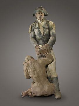 Toussaint Louverture et la vielle esclave