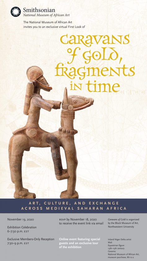 First Look of Caravans of Gold, Fragments in Time: Art, Culture, and Exchange Across Medieval Saharan Africa
