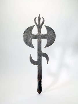 Acid-etched scepter