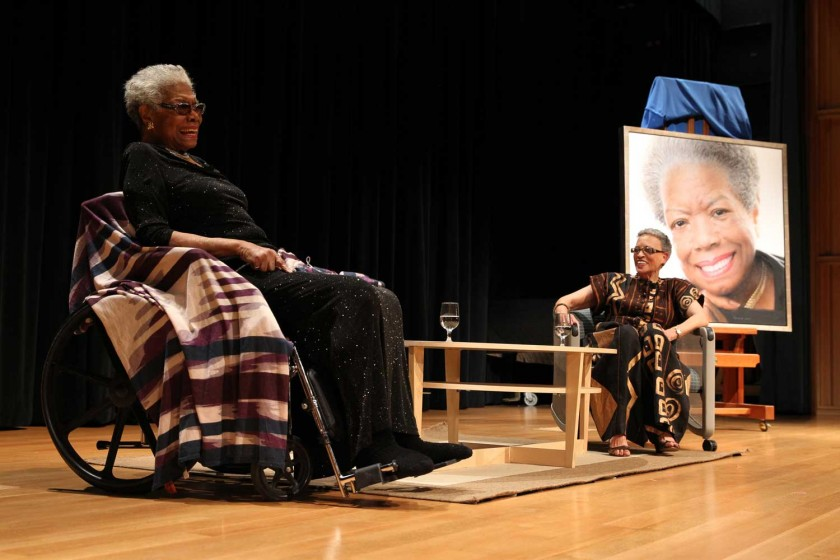 Conversation: Maya Angelou and Dr. Johnnetta B. Cole