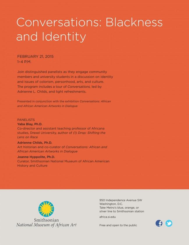 Conversations: Blackness & Identity event