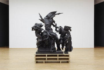 Wim Botha b. 1974, South Africa Prism 10 (Dead Laocoön) 2013 Bronze 248.9 x 190.5 x 104.1 cm (98 x 75 x 41 in.) Collection of the artist, courtesy Stevenson Gallery, Cape Town/Johannesburg