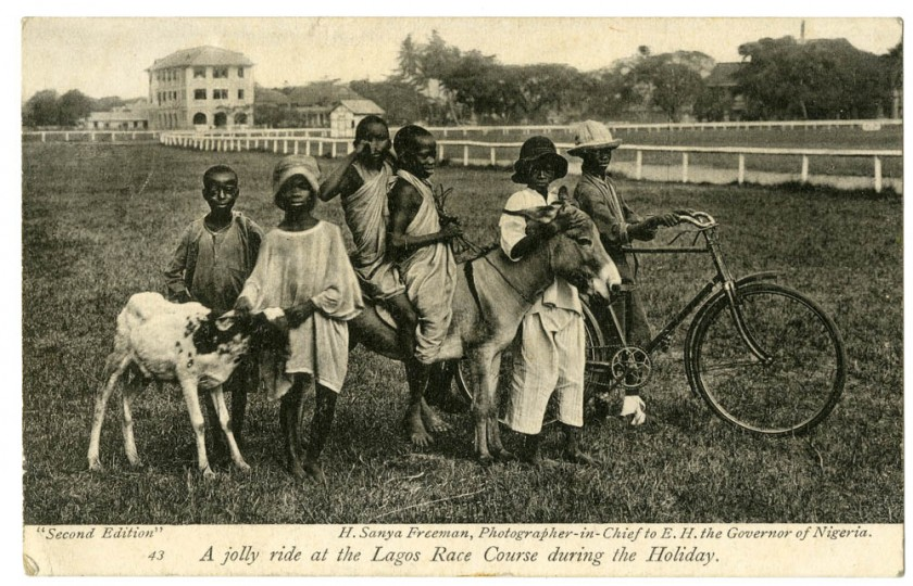 A jolly ride at the Lagos Race Course during the holiday