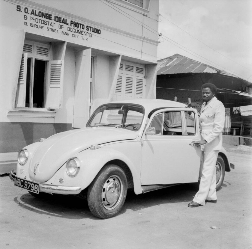The Ideal Studio with visitor and Volkswagen Beetle