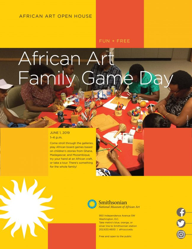 African Art Family Game Day