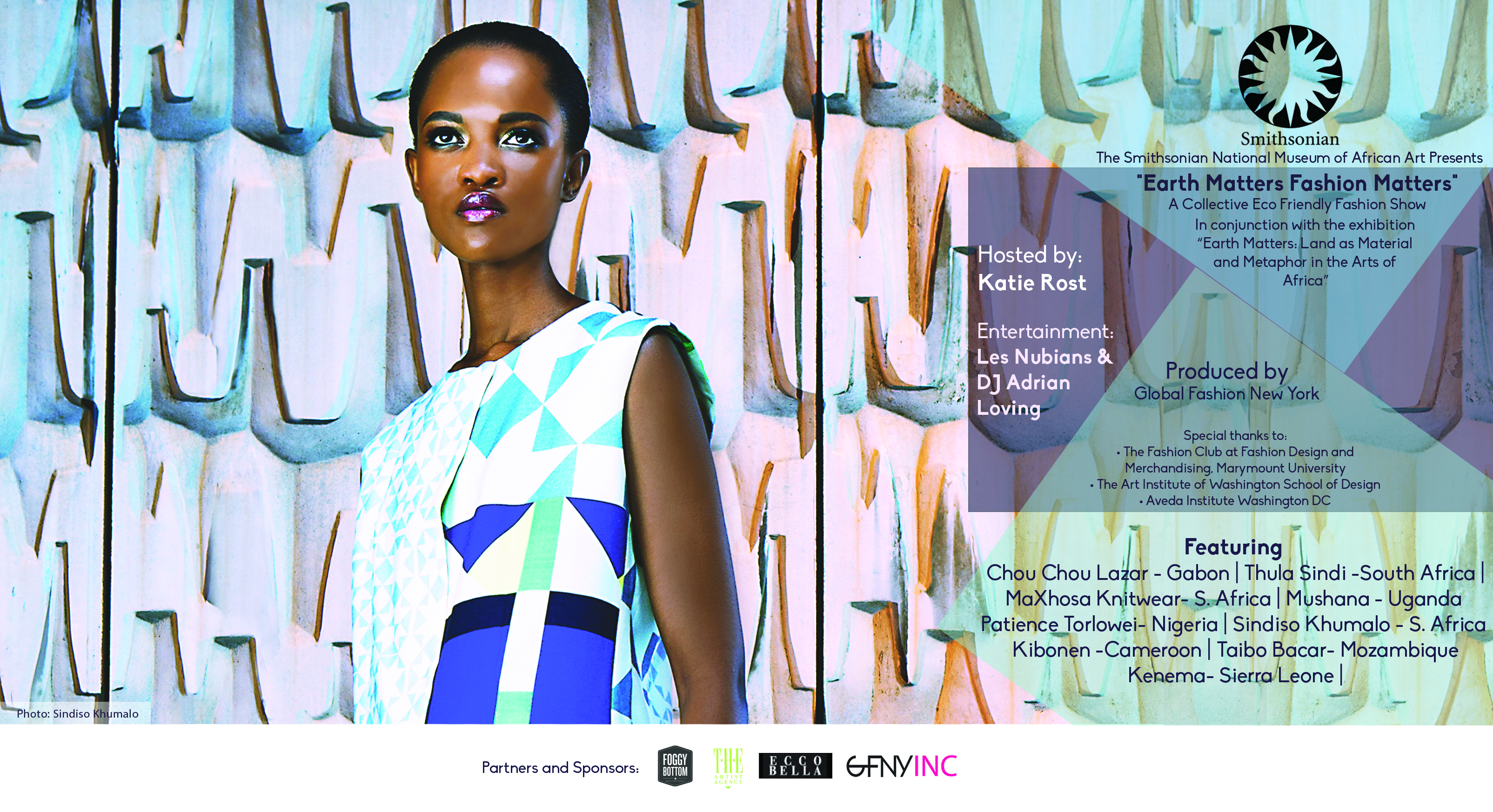 Eco Friendly Designs Come To The National Museum Of African Art In Earth Matters Fashion Matters