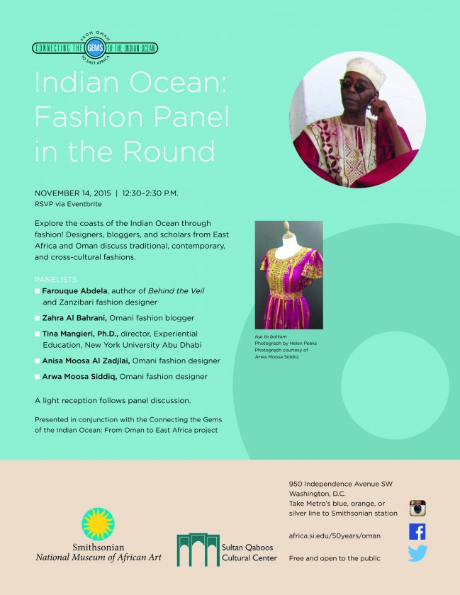 Indian Ocean: Fashion Panel in the Round