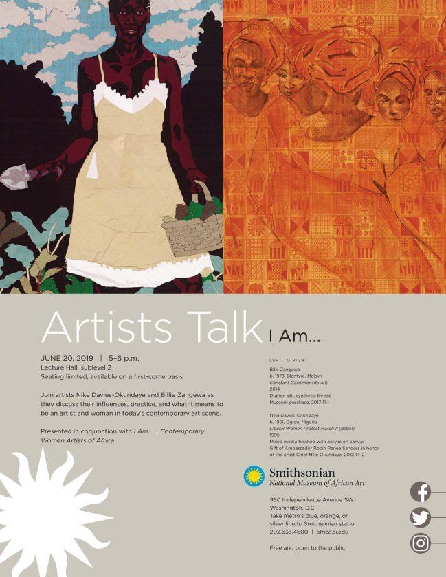 I AM artist talk
