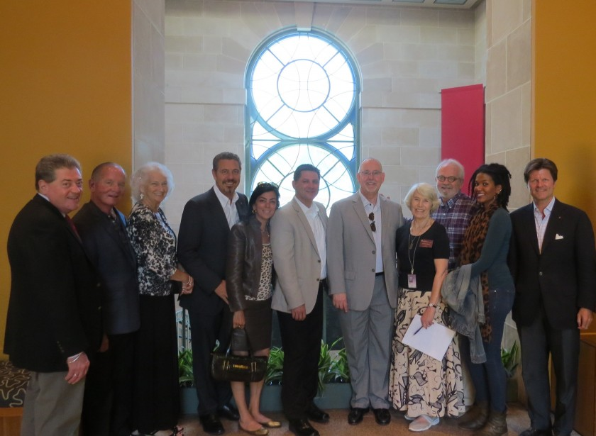NMAfA Receives Vatican Visitors for Tour of Divine Comedy Exhibition