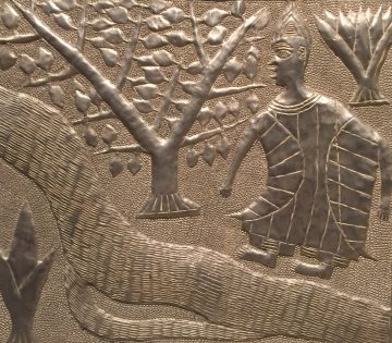 The Woman with Four Breasts (detail depicting Oshun becoming the Oshun River)
