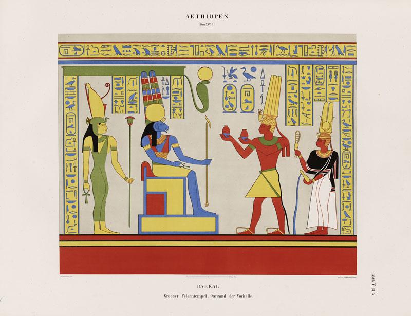 Denkmäler aus Ägypten und Äthiopien (Monuments of Egypt and Ethiopia) (detail)