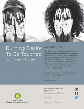 Burning Desire To Be Touched by Mwangi Hutter