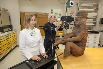 National Museum of African Art Conservators at Work