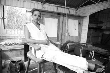 Syowia Kyambi in Nairobi Studio