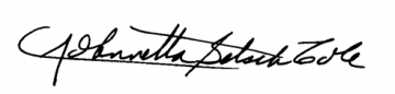 Dr. Cole signature
