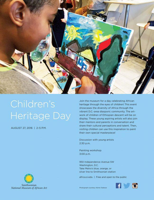 childrens heritage day