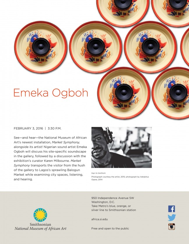 Emeka Ogboh talk