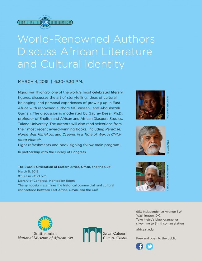 African literature and culture