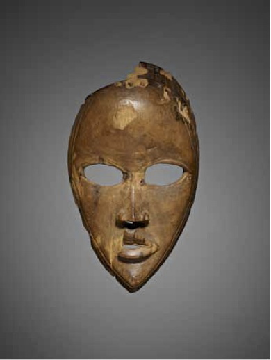 Gunyege mask. Dan artist.  Côte d'Ivoire.  Early 20th c. Wood. The Estate of William Siegmann, Brooklyn