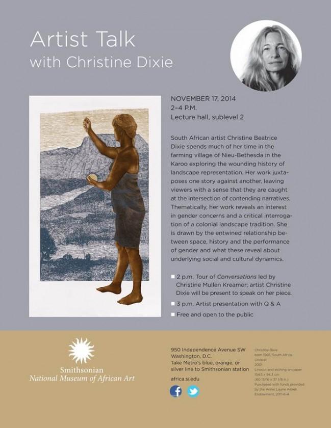 Christine Dixie talk