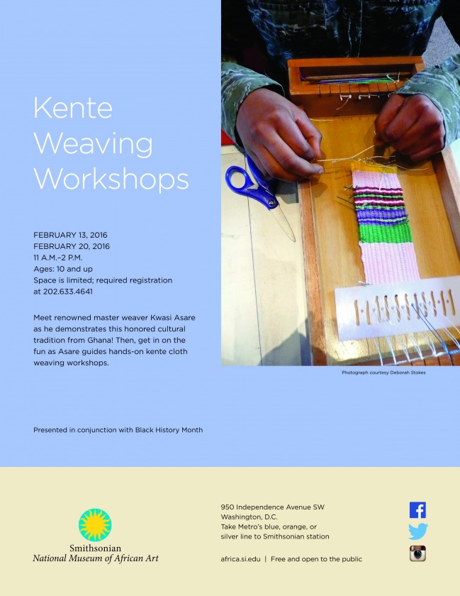 Kente Weaving Workshop