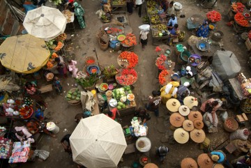 Lagos's Balogun market
