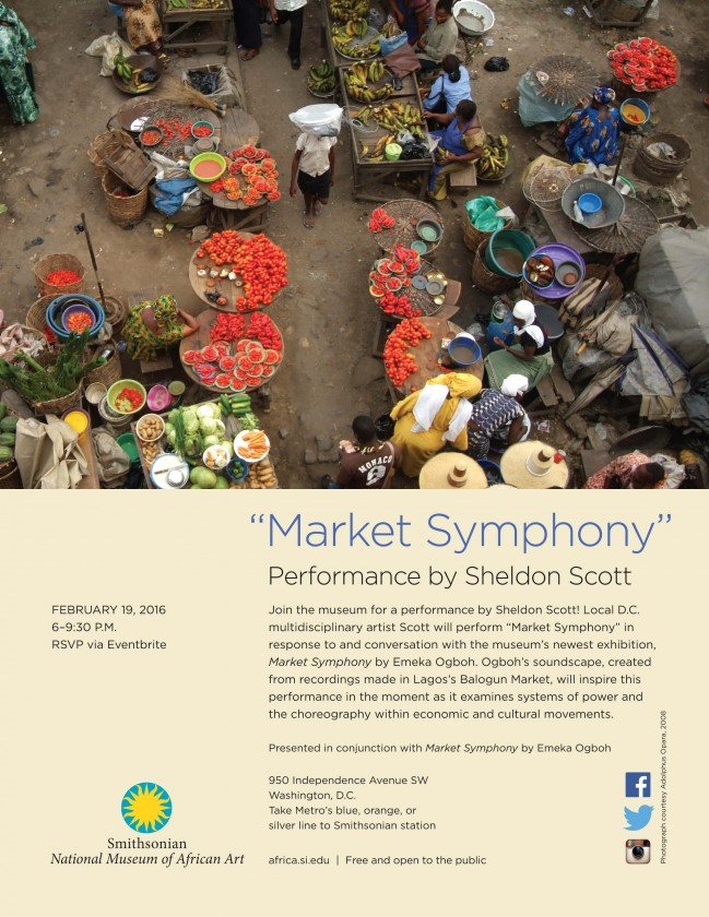 Market Symphony Performed by Sheldon Scott