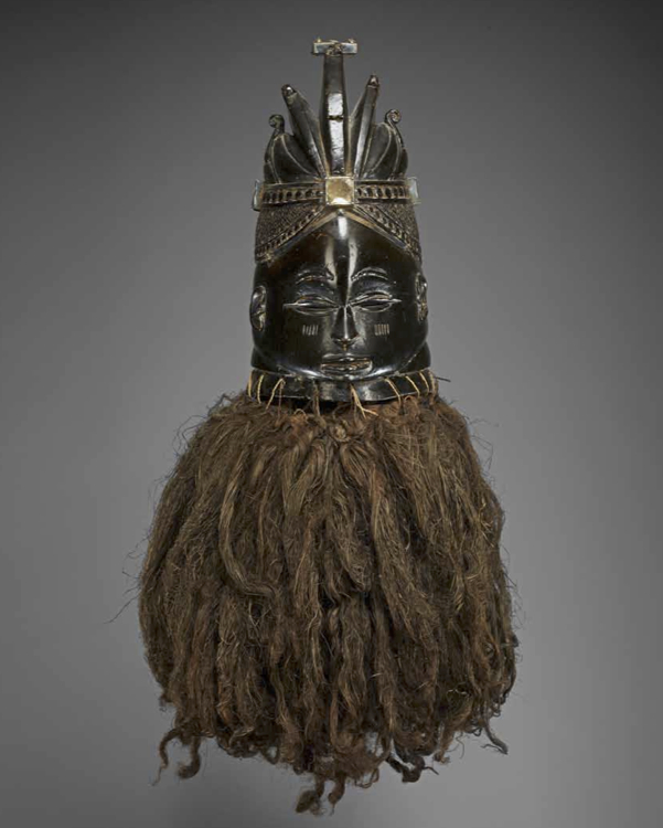 Ansumana Sona (b. 1931) Mende Sierra Leone Ndoli jowei Mask and CostuMe, c. 1960 Wood, plant fibers, silver, cotton H. 15 1⁄4 in. (38.7 cm) (mask) Minneapolis Institute of Arts, Gift of William Siegmann 2011.70.3.1-2 3