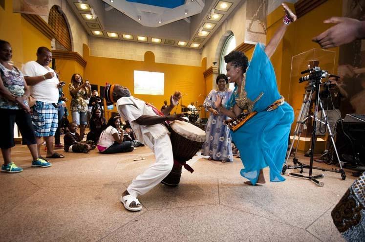 African Art Open House