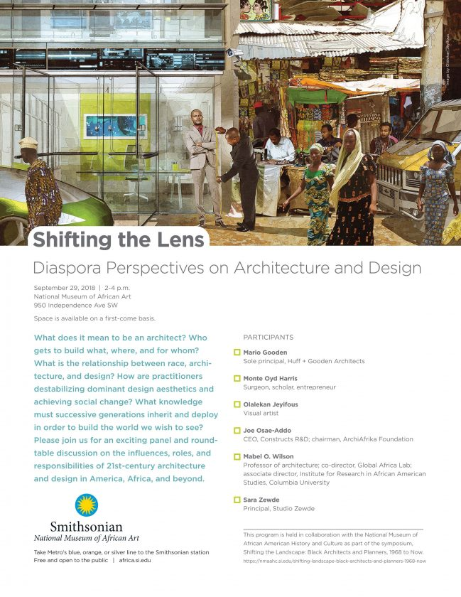 Shifting the Lens: Diaspora Perspectives on Architecture and Design