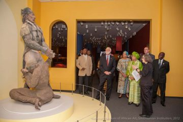 African Mosaic opening with Liberian president H.E. Ellen Johnson Sirleaf