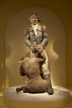Toussaint Louverture et la vieille esclave