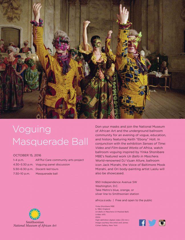 Voguing Masquerade Ball